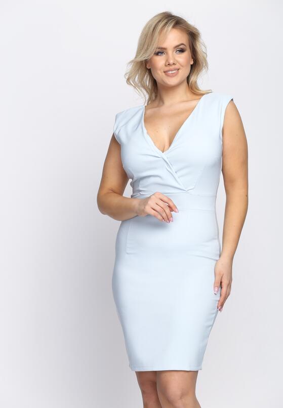 Jasnoniebieska Sukienka Outshine