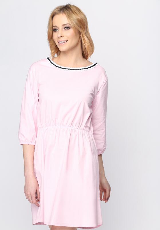 Różowa Sukienka Same Things