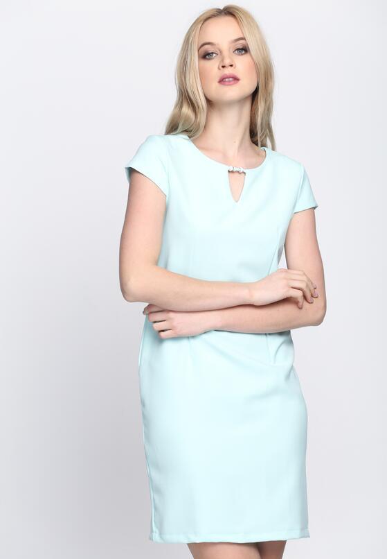 Miętowa Sukienka Just Pretending
