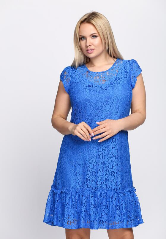 Niebieska Sukienka See the Light