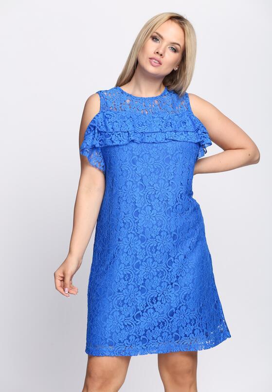 Niebieska Sukienka U Wanna Stay