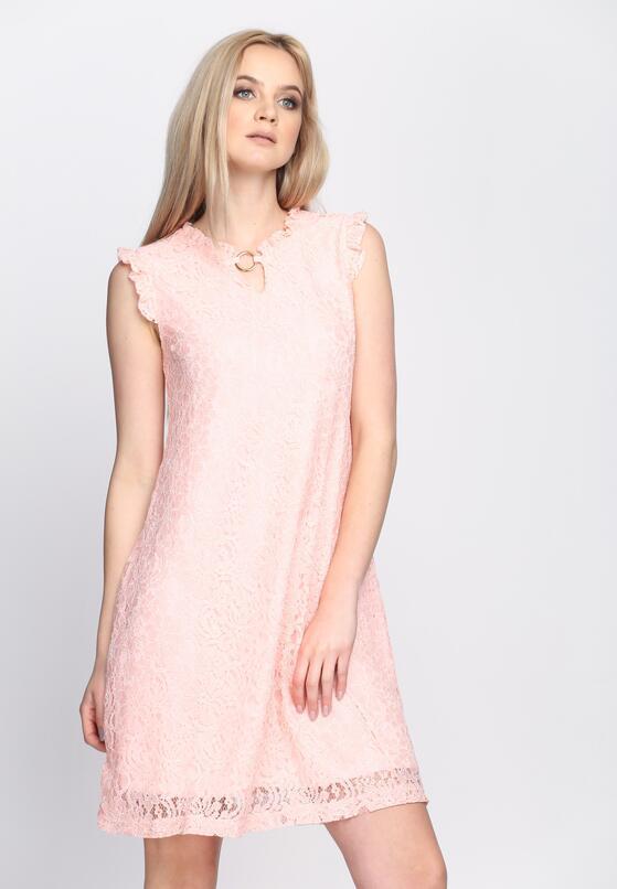 Jasnoróżowa Sukienka Still In Love
