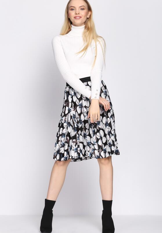 Czarna Spódnica Shirring
