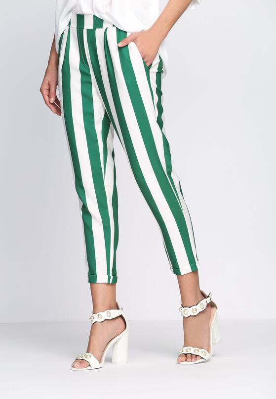 Zielone Spodnie Heart Freedom