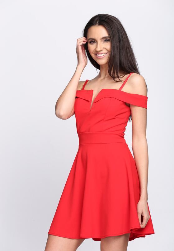 Czerwona Sukienka Love Message