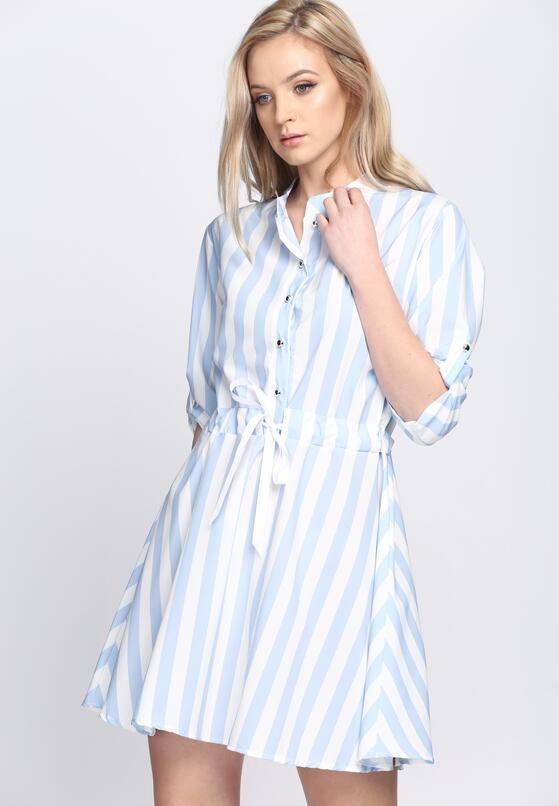 Niebieska Sukienka Chase Me