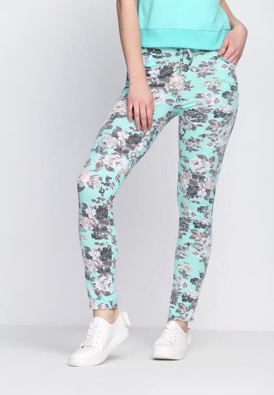 Miętowe Spodnie This Is Crazy