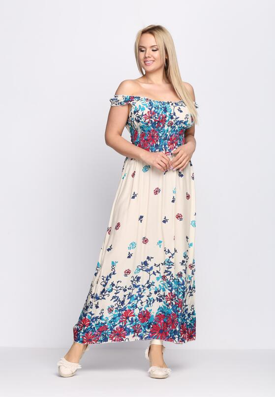 Kremowa Sukienka Seductively
