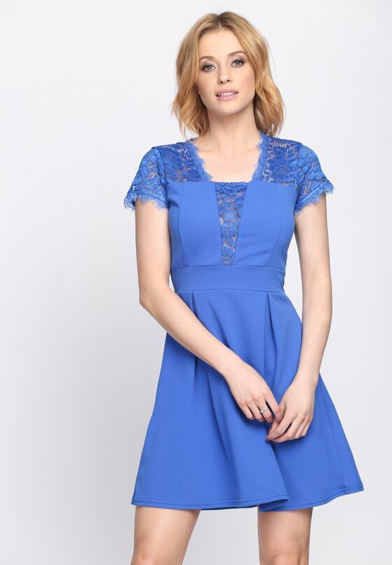 Niebieska Sukienka Dream Dreams
