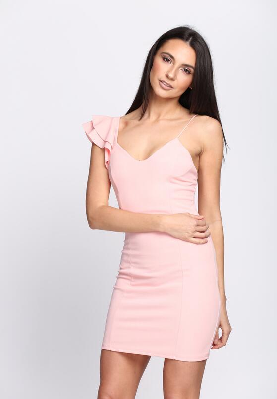 Różowa Sukienka Forever Now