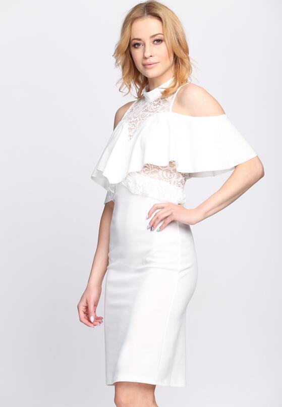 Biała Sukienka Baby Bumble
