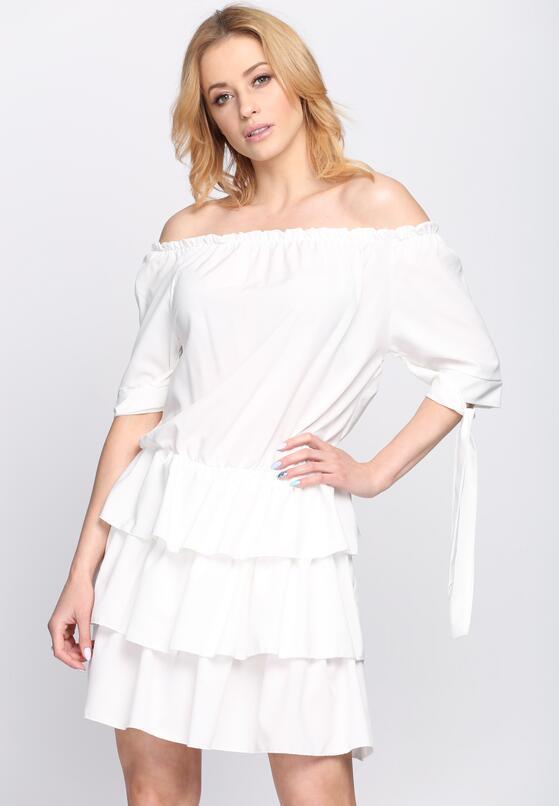 Biała Sukienka Two of Us