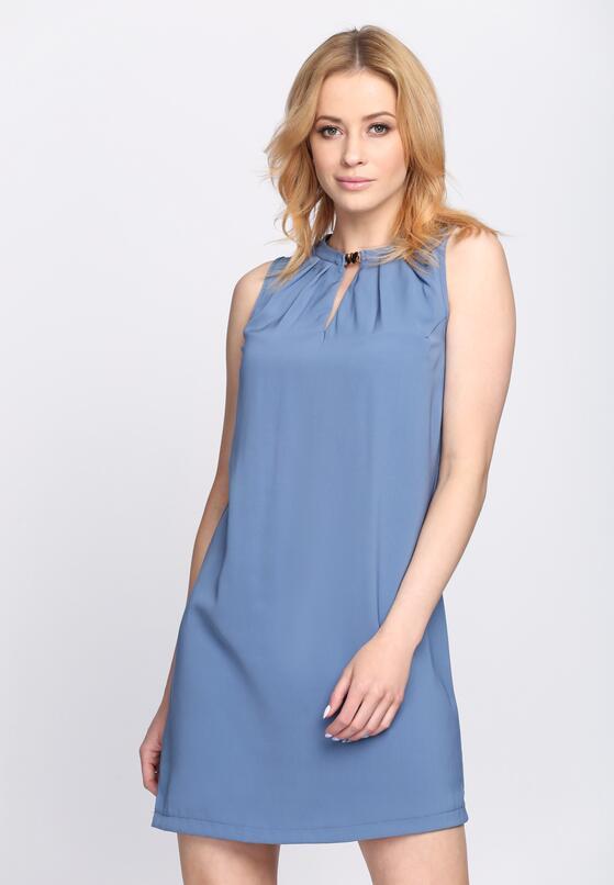 Niebieska Sukienka In the Rain
