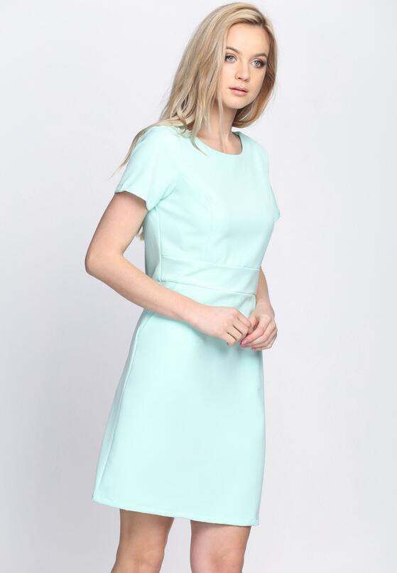Miętowa Sukienka Heart Away