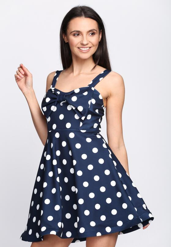 Granatowa Sukienka La La Love