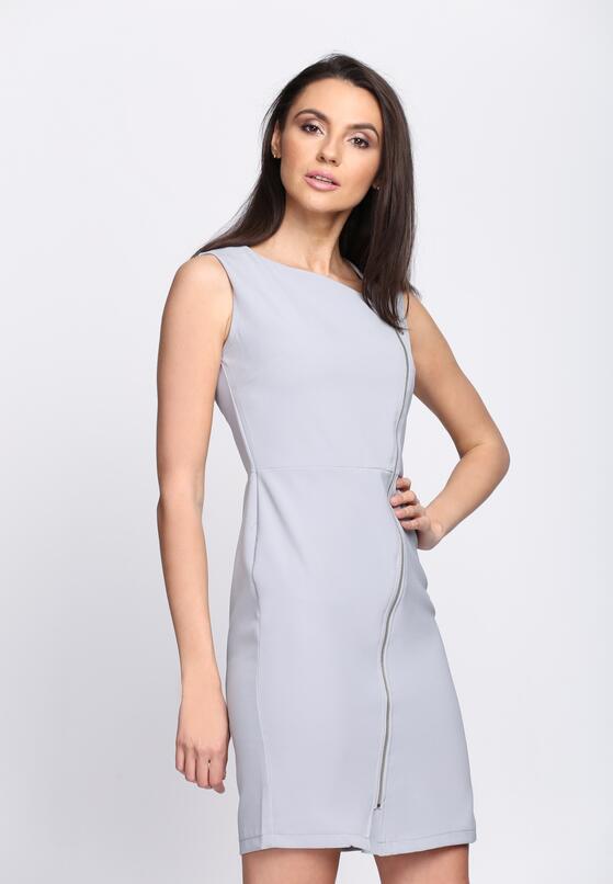 Szara Sukienka Safe Passage