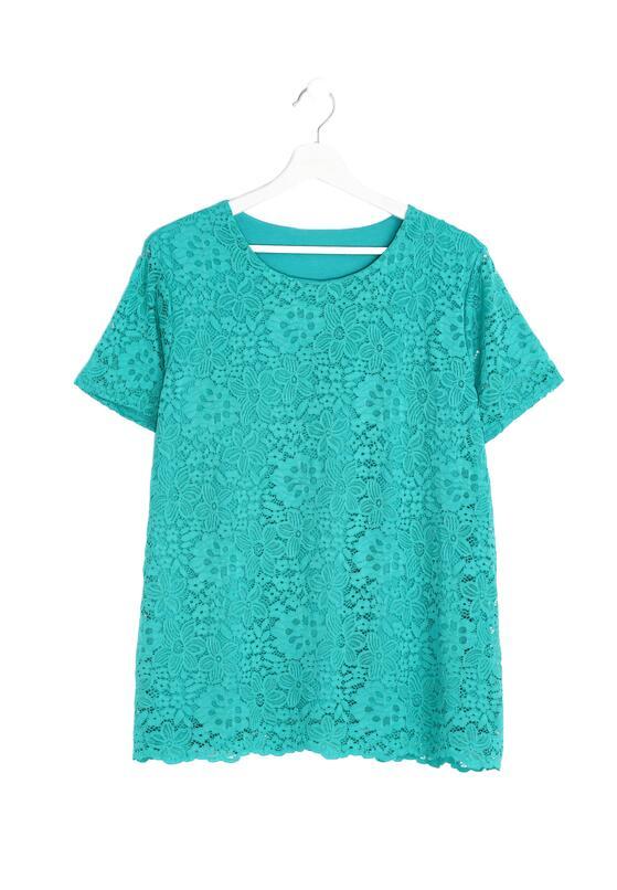 Zielony T-shirt Gudgeon