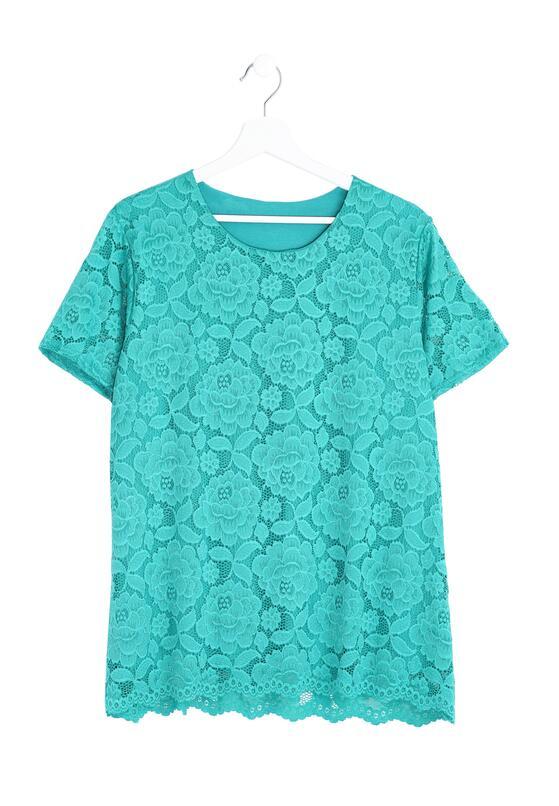 Zielona Bluzka Lucky Woman