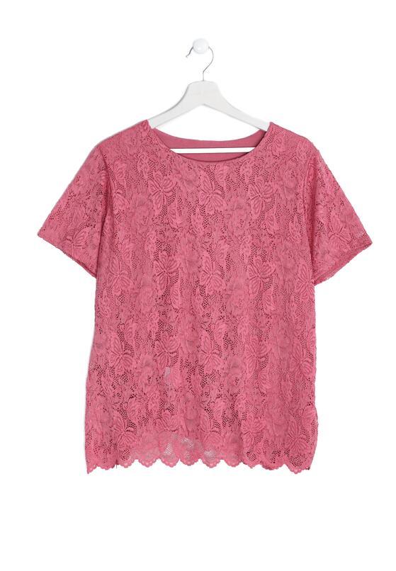Różowa Bluzka Careless