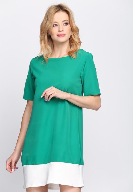 Zielona Sukienka Despair