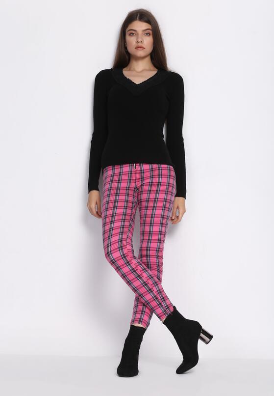 Fuksjowe Spodnie Wonderland