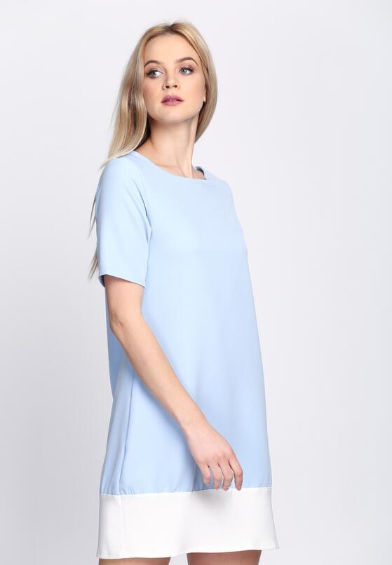 Niebieska Sukienka Despair