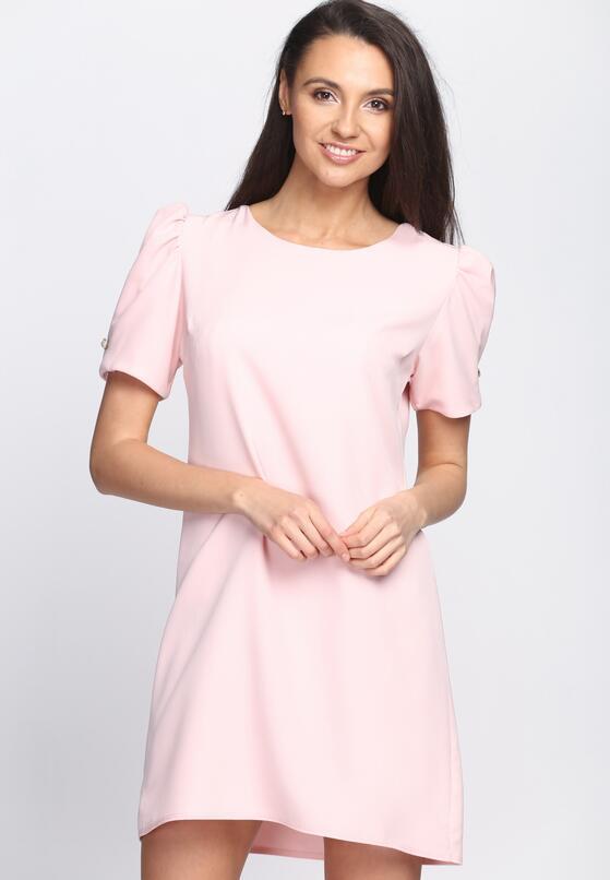 Różowa Sukienka Thunderbird