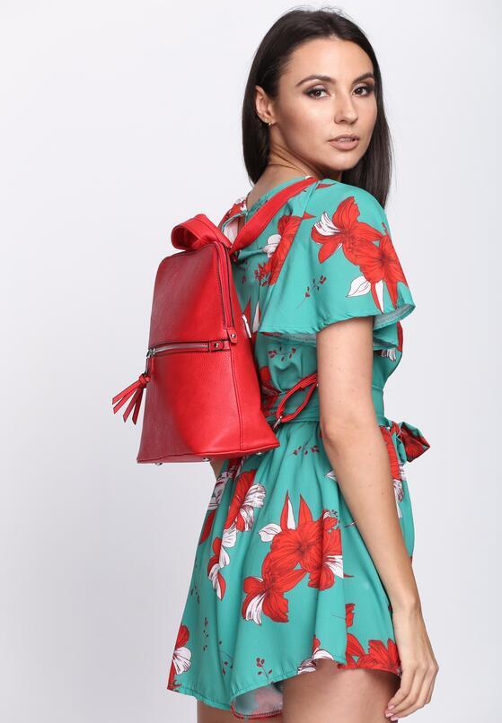 Czerwony Plecak Spring Trends