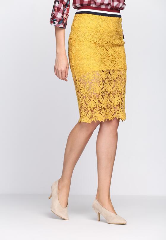 Żółta Spódnica Side By Side