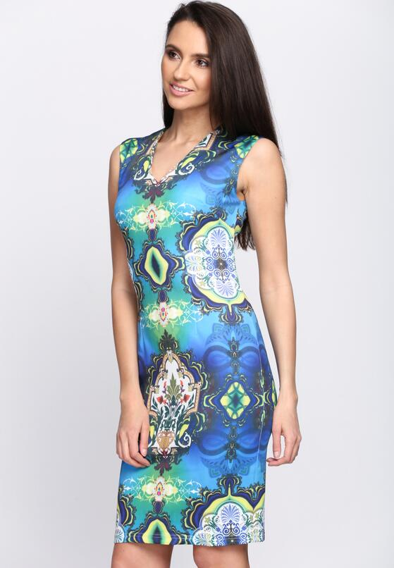 Niebieska Sukienka Amazing Thing