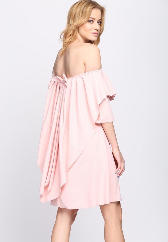 Różowa Sukienka Never Sleeps