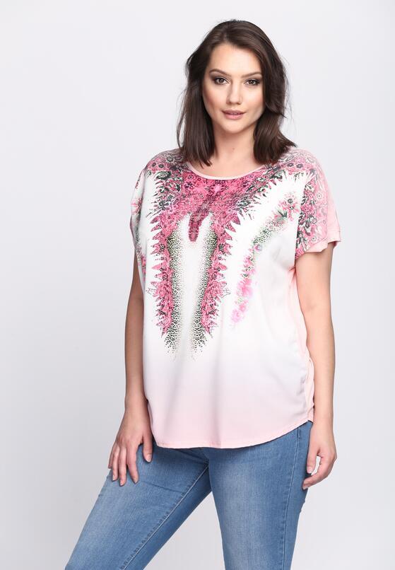 Różowa Bluzka Unique