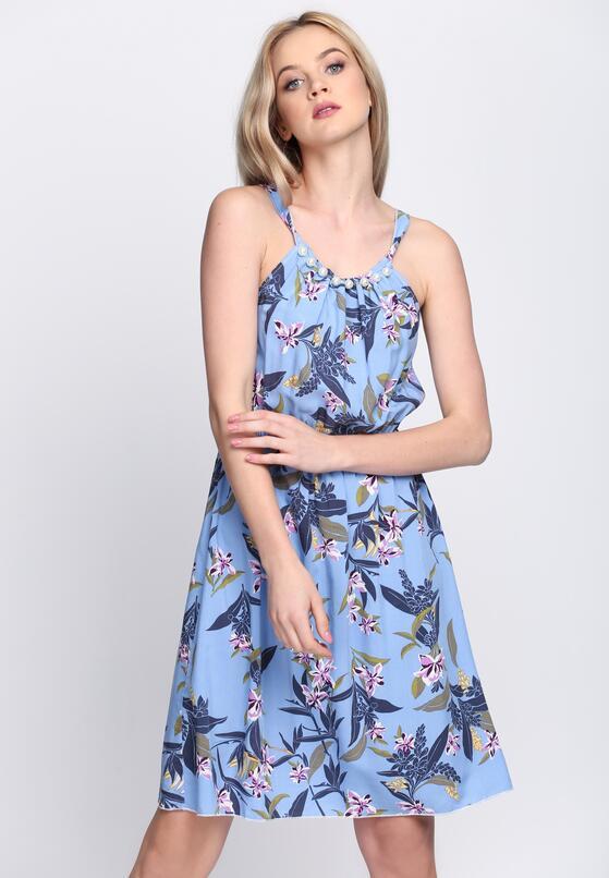 Niebieska Sukienka Rhapsody