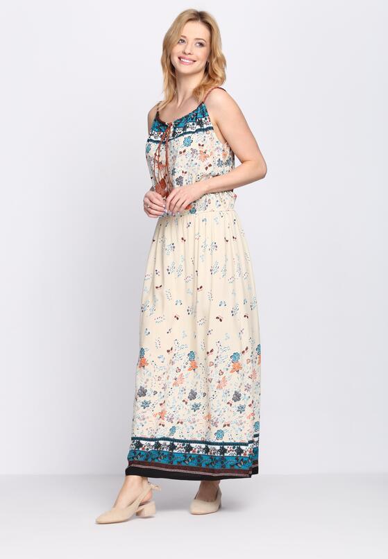 Kremowa Sukienka Shelter Mountain