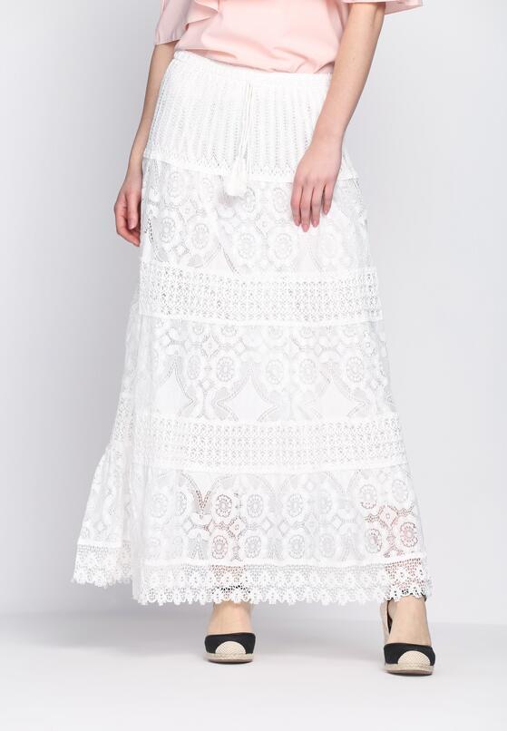 Biała Spódnica Me Me Me