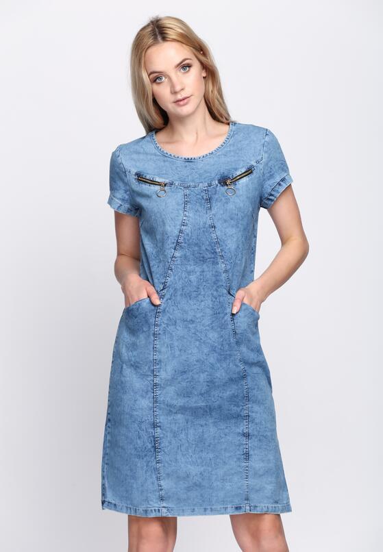 Niebieska Sukienka Say It Loud