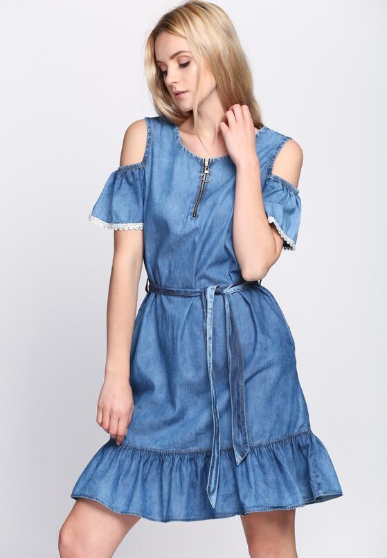 Niebieska Sukienka Secret Love