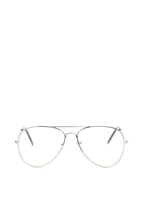 Srebrne Okulary Zerówki Jade