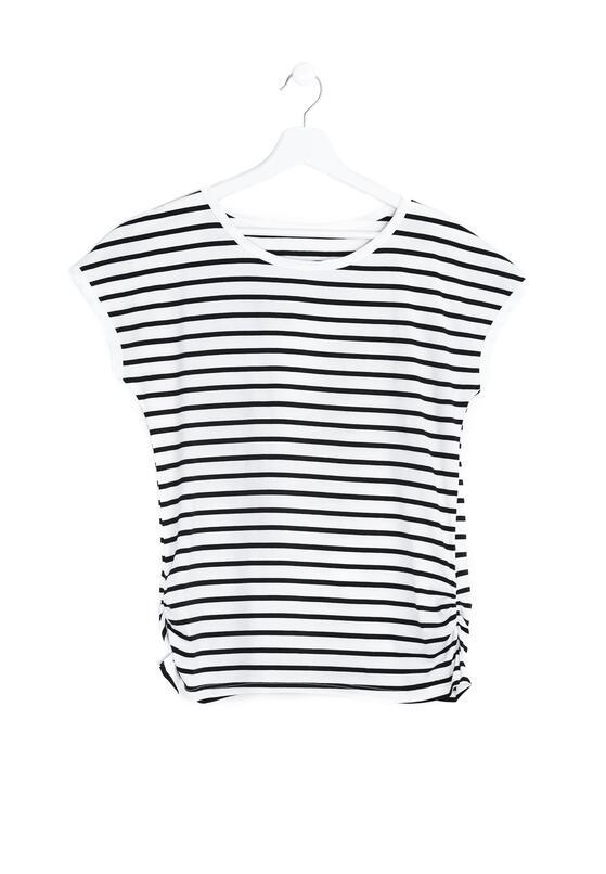 Biały T-shirt Celestial