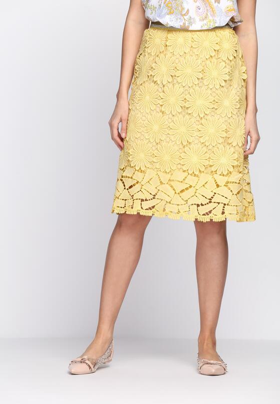 Żółta Spódnica I See Everything