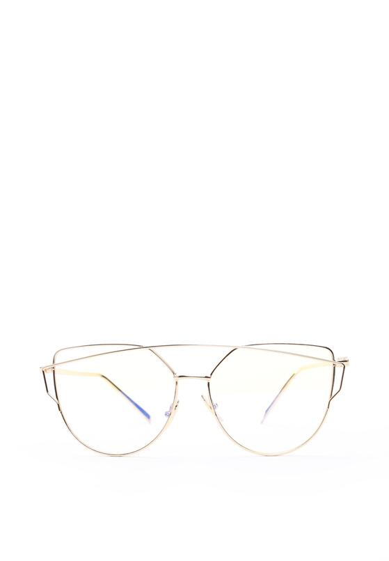 Złote Okulary Love Divine