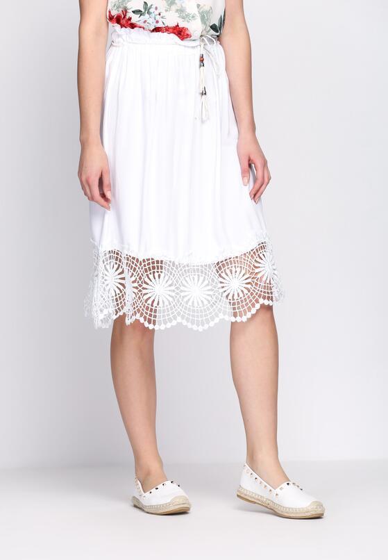 Biała Spódnica Thyme