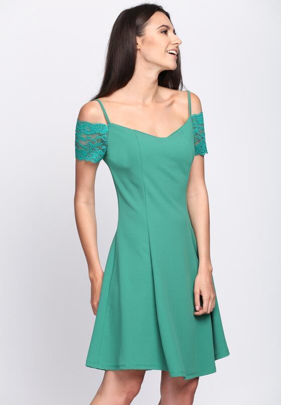 Zielona Sukienka Paradise Vibes