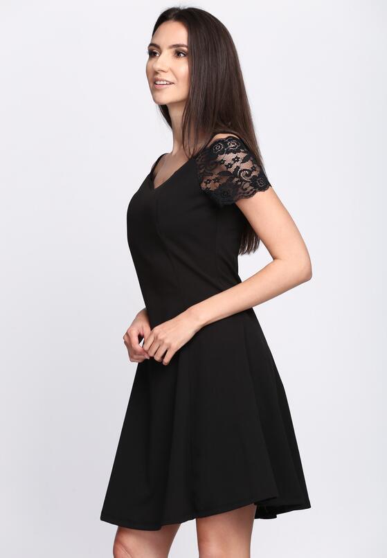 Czarna Sukienka Paradise Vibes