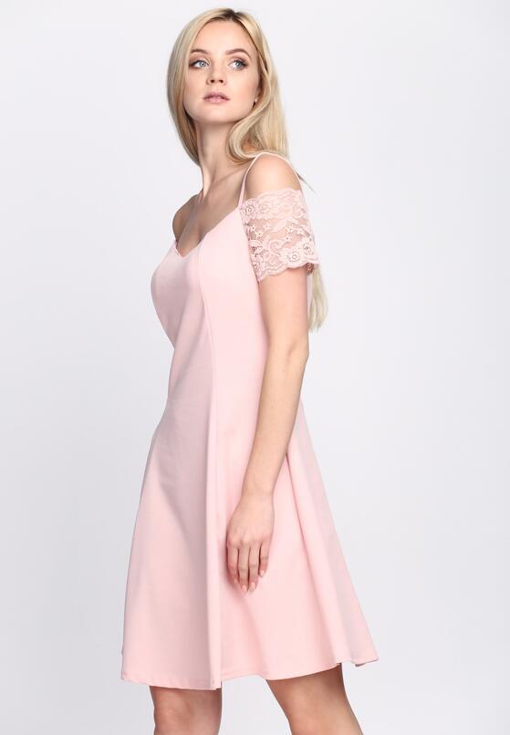 Różowa Sukienka Paradise Vibes