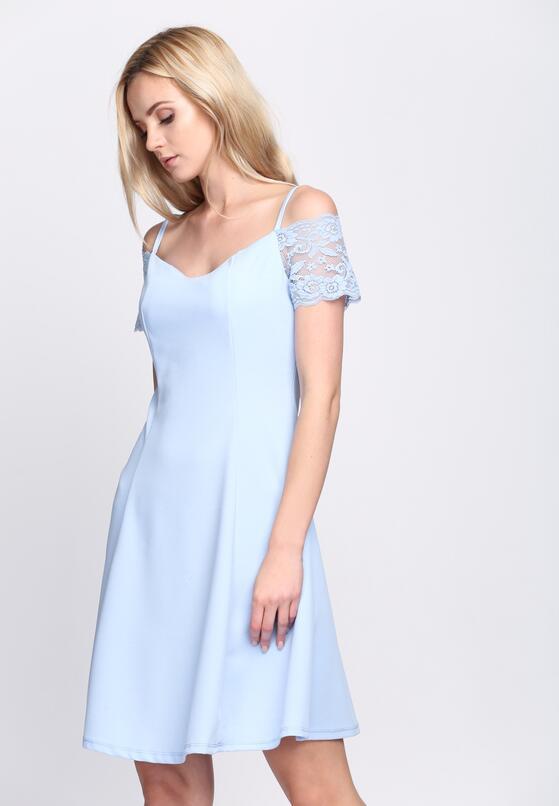 Jasnoniebieska Sukienka Paradise Vibes