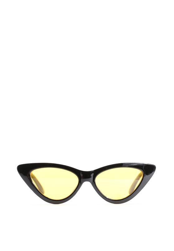 Czarno-Żółte Okulary Helen