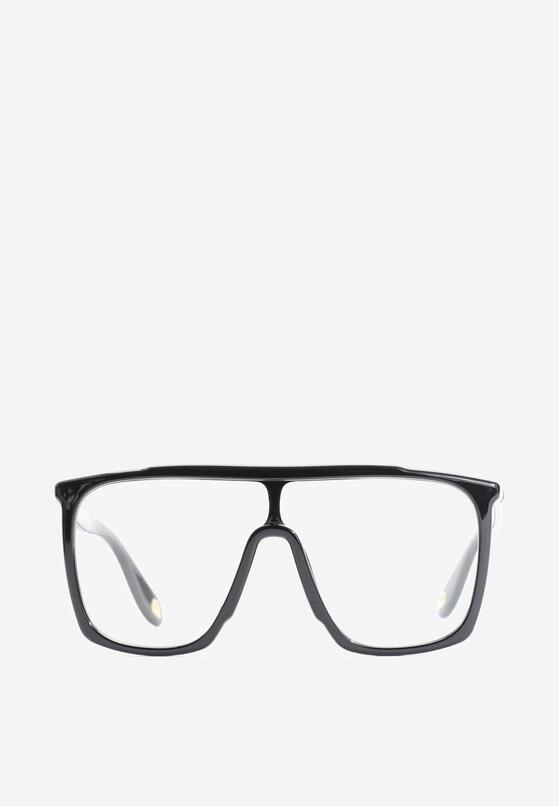 Czarno-Białe Okulary Trish
