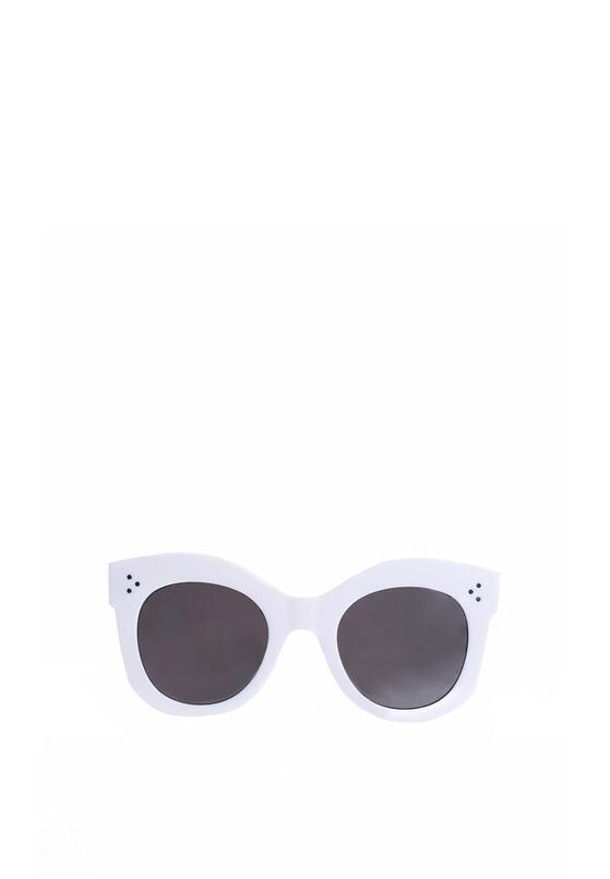 Biało-Czarne Okulary Annabelle