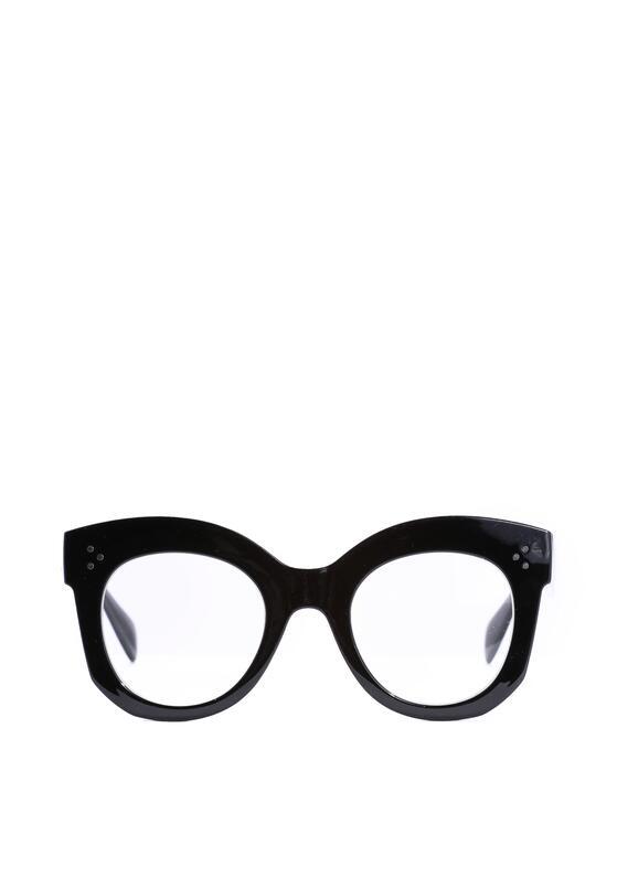 Czarno-Białe Okulary Annabelle